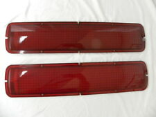 1968-70 Shelby Tail Light Lenses with T-Bird Style Bezels
