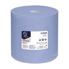 Putztücher Putzrolle Putztuchrolle blau 3-lagig 1000 Abrisse Putzpapier