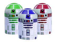 Star Wars Conjunto de almacenamiento de cocina botes CONTENEDORES R2-D2 Droids té, cafeteras