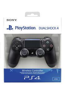 Sony Playstation 4 Wireless Ps4 Controller SCHWARZ V2 JET BLack Wie Neu Garantie
