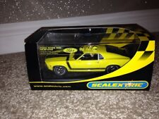 Scalextric 302 Ford Mustang Boss STREET auto Rara NUOVA IN SCATOLA C2574 SCALA 1/32
