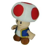 Nintendo Super Mario Toad 8 Inch Plush Toy NWT
