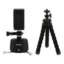 360° Rotating Time Lapse Pan Stabilizer+Tripod Monopod+Phone Clip f GoPro SJCAM