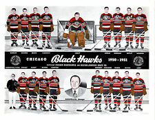 1949 1950 CHICAGO BLACK HAWKS 8X10 TEAM PHOTO HOCKEY NHL HOF ILLINOIS