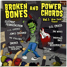 CD- Broken Bones and Power Chords, Vol. 1: New York's Finest- Crosscheck-CD9066