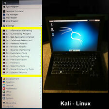 Kali Linux+Backbox+tools-Dual-Boot-Dell E6410-Core i7-Laptop 4GB-NonProfit Org