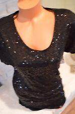 Victoria's Secret XS black sequin bling cocktail evening dress shift $108 retail