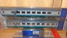 ROCO 64082 Set Gran Confort salone tetto liscio + Eurofima 1a classe, XMPR