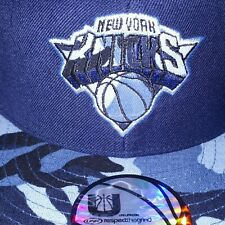 New York Knicks UNK NBA Camouflage Effect Fitted Cap - Size 7 3/8 - Basketball