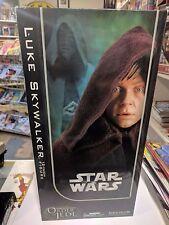 """Luke Skywalker JEDI KNIGHT ROTJ  Sideshow  12"""" - ORDER OF THE JEDI  FIGURE"""