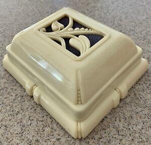 Antique Vintage Art Deco Celluloid Jewelry Bracelet Ring Box