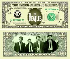 The Beatles Classic-Style Million Dollar Collectible Funny Money Novelty Note
