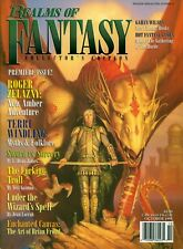 Realms of Fantasy Magazine October 1994 Collectors Premiere Issue Excellent cond