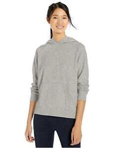 Brand - Goodthreads Women's Modal Fleece Popover Sweatshirt