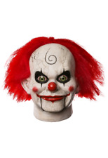 Halloween Dead Silence Mary Shaw Clown Adult Latex Deluxe Mask Haunted House NEW
