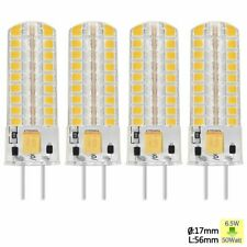 Sunix 4x 2835 GY6.35 LED Silicone Light Bulb 6.5W Energy Saving Warm White SU732