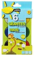 Pebeo Kids Art & Craft Maxi Gouache Poster Paint Watercolour Set of 6 Colours