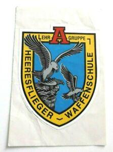 Werbe-Aufkleber Heeresflieger Waffenschule Lehrgruppe A Hubschrauberausbildung