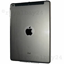 iPad air 1 Silikonhülle Schutz clear slim case transparent Smart Cover Rückseite