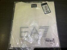 EMPORIO ARMANI EA7 LADIES LOGO T-SHIRT Brand New RRP 50. White All sizes SML