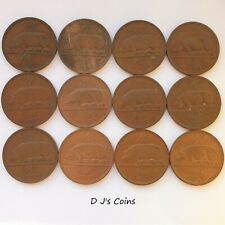 More details for 12 ireland - irish - Éire free state half penny ½d coins, collectable grades.