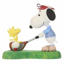 Hallmark Keepsake 2019 Peanuts Golfer Snoopy Spotlight on Snoopy Ornament - New