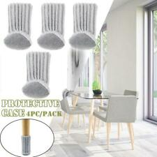 4pcs Furniture Table Chair Foot Leg Knit Strap Socks Cover Pads Floor Protector