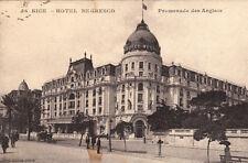 NICE 56 hôtel negresco promenade des anglais éd giletta écrite 1914
