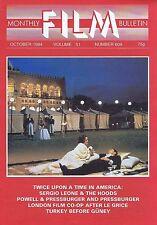 SERGIO LEONE / POWELL & PRESSBURGERMonthly Film BulletinOct1984