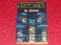 [BIBLIOTHEQUE H. & P.-J. OSWALD] HISTOIRES DE DEMAIN  COLL.GASF SF 1976