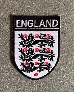 Brand new embroidered England Football Team Patch Fa In Black