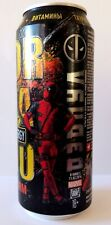 Empty can Deadpool 2016 Tornado Energy Drink can 500ml VERY RARE Limited Edition