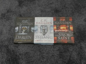 C F IGGULDEN: DARIEN, SHIANG, THE SWORD SAINT MATCHING LIMITED SET #191