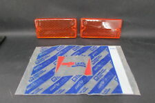 Pair Gems Orange Lights Front Fiat 124 Special 1502 - 1503