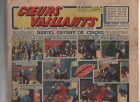 COEURS VAILLANTS 1943 n°6 - Tintin. Crabe aux pinces d'or EN COULEURS