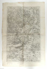 1910s German Antique Map Germany POLAND POLAJEWO CZARNIKAU