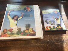Detox 360 An Integrative Detox System Kit Linda Clark 2 Dvd's,Meal Plans Recipes