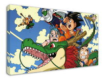 WK-C023 (526) Dragon Ball Z Canvas Stretched Wood Framed 18x12inch Poster