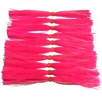 10pc Jig Skirt For Spinner Bait JIG Skirt Banded Flash Fishing Skirts SF057