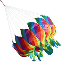 Colorful Rainbow Flower Tail Windsock Line Laundry Used for Outdoor Kite Flying