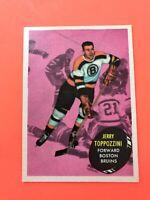 Jerry Toppazzini 1961-62 Topps #9  Vintage Hockey Card