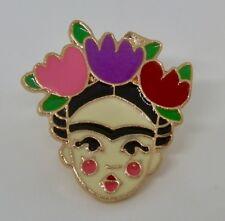 Frida Kahlo Metal Enamel Pin Badge