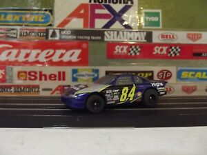 AURORA  AFX #84 HIGH CONSRTRUCTION STOCK CAR WITH MEGA-G 1.5 CHASSIS #70305