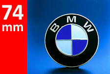 BMW Emblem 74mm 2 Pin Front Rear Truck Logo Badge Decal 51148132375