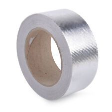 Silver Aluminum Reinforced Tape Heat Resistant Wrap for Intake Pipe Suction
