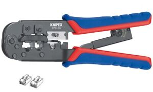 Professional Crimping Plier for RJ 45 Plug Wire Stripping Tool 97 51 10 KNIPEX