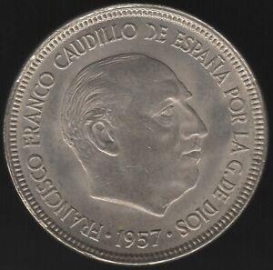 1957(63) Spain 5 Pesetas Coin | European Coins | Pennies2Pounds
