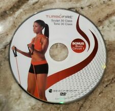 TURBO FIRE - Chalene Johnson - SCULPT 30, TONE 30 - DVD Replacement Disc