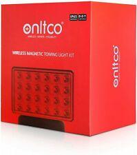 New Onltco 48 LED Wireless Magnetic Towing Light Kit 2 Lamps IP65 DOT Certified