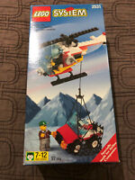 LEGO 2531 Airline Promotional Set Helicopter with Jeep Cargo - NEW